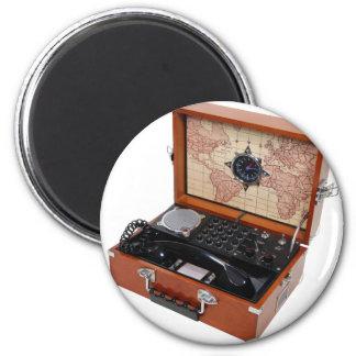 FieldPhoneOpen040509 Imán Redondo 5 Cm