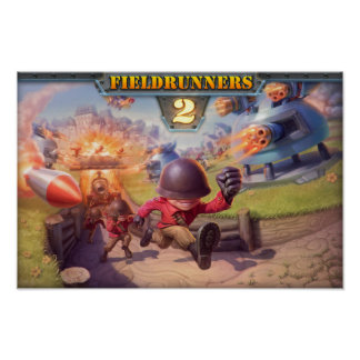 Fieldrunners 2 - Official Poster