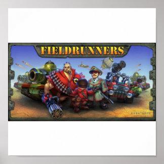 Fieldrunners Poster
