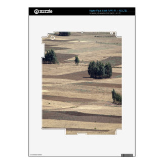 Fields after harvest iPad 3 decals