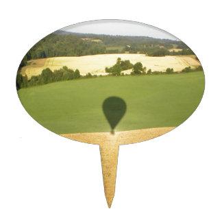 Fields Balloon Flight Cake Topper
