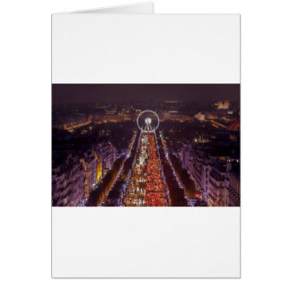 Fields-Elysées, France Card
