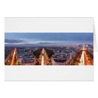 Fields-Elysées, France, Paris Card