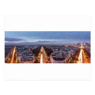 Fields-Elysées, France, Paris Postcard