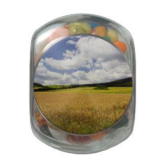 Fields in Hungary Glass Jars