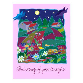 Fields of Dreams Postcard