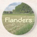 Fields of Flanders Beverage Coaster