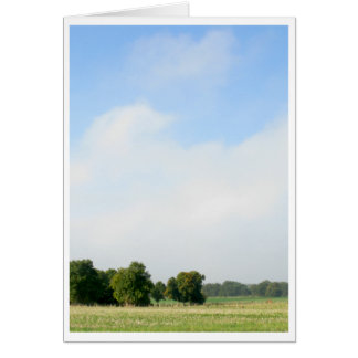 Fields of France Greeting Card