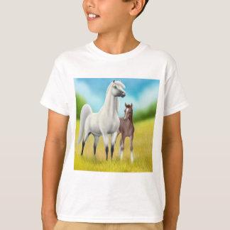 Fields of Gold Arabians Kids T-Shirt