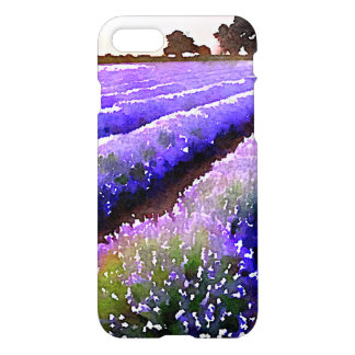 Fields of Lavender iPhone 7 Case