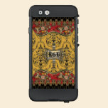 Fields of Merrygolden Vintage Floral VI  Monogram LifeProof® NÜÜD® iPhone 6 Case