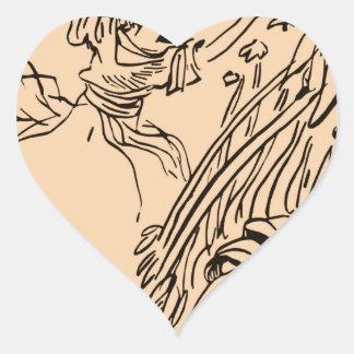 Fields of Play Heart Sticker