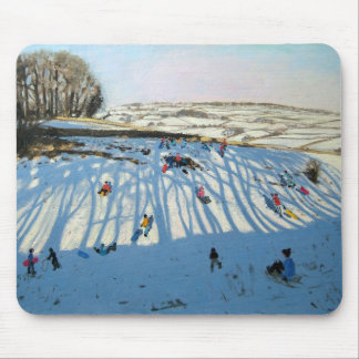 Fields of Shadows Monyash Derbyshire Mouse Pad