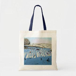 Fields of Shadows Monyash Derbyshire Tote Bag