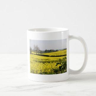 Fields of yellow (2) coffee mug