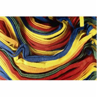Fieltro coloreado escultura fotográfica