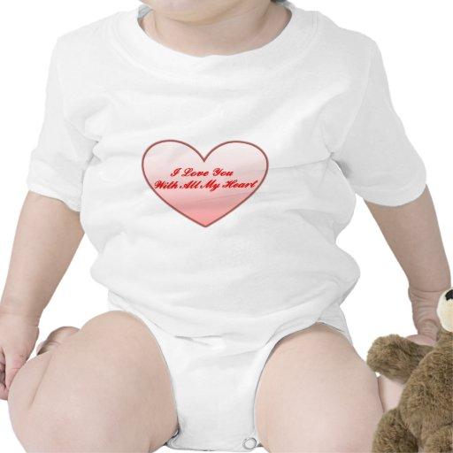 ¡Fieltro del corazón! - Enredadera infantil Traje De Bebé