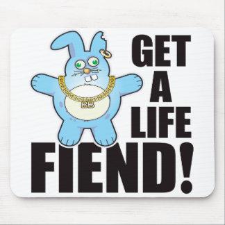 Fiend Bad Bun Life Mouse Pad