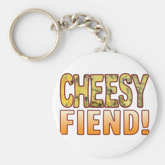 Fiend Blue Cheesy Keychain