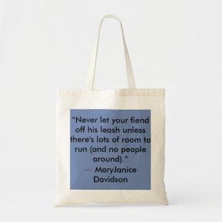 Fiend Tote Bag