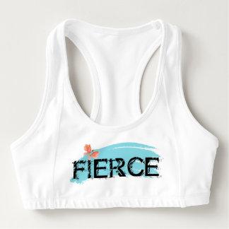 Fierce and Feminine Sports Bra