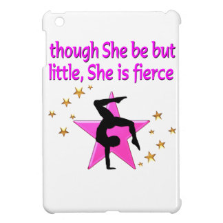 FIERCE AND MIGHTY GYMNAST iPad MINI CASES