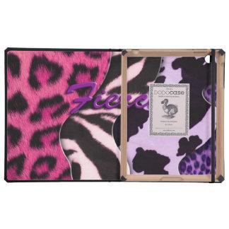 Fierce Animal Print iPad Cases