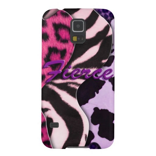 Fierce Animal Print Cases For Galaxy S5