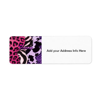 Fierce Animal Print Label