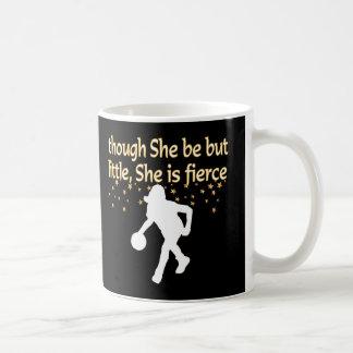 FIERCE BASKETBALL PLAYER COFFEE MUG