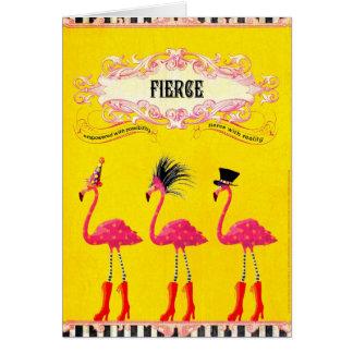 Fierce (Birthday Card) Greeting Card