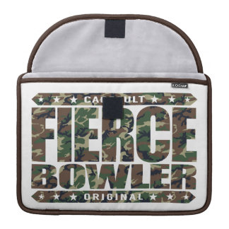FIERCE BOWLER - Fearless Warrior of Perfect Games MacBook Pro Sleeve