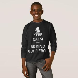 Fierce Boy's Dark Long Sleeve T-Shirt