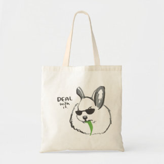 Fierce Bunny Tote Bag