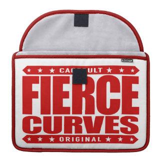 FIERCE CURVES - Body of Fearless Amazon Warrior Sleeve For MacBooks