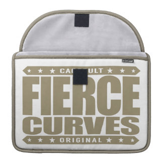 FIERCE CURVES - Body of Fearless Amazon Warrior Sleeves For MacBook Pro