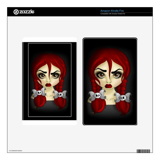 Fierce Decal For Kindle Fire