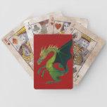 Fierce Dragon Deck Bicycle Poker Cards