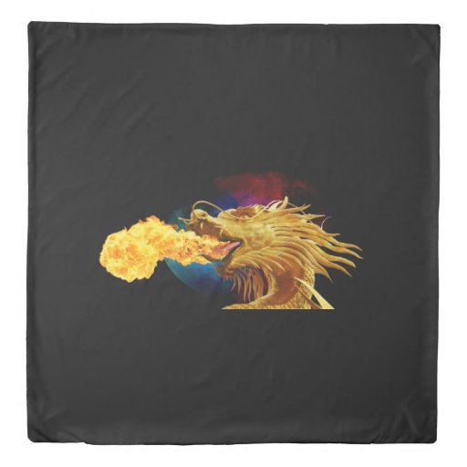 Fierce Dragon Duvet