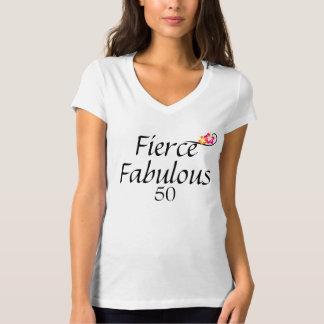 Fierce Fabulous 50 T-shirt