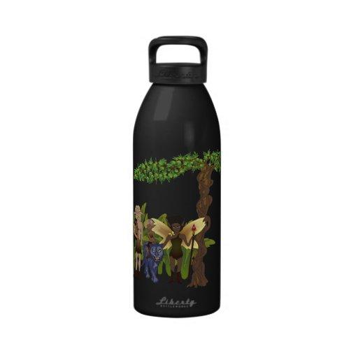 Fierce Faerie Family Portrait Drinking Bottle
