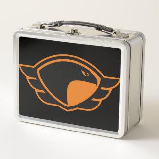 Fierce Falcons Metal Lunch Box