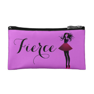 Fierce Female Starry Cosmetic Bag