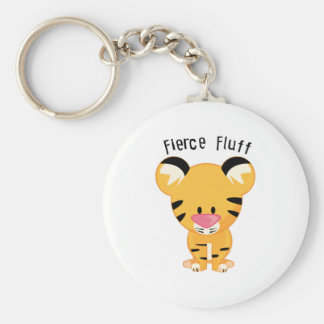 Fierce Fluff Keychain