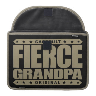 FIERCE GRANDPA - Still Frisky With Stamina & Vigor MacBook Pro Sleeve