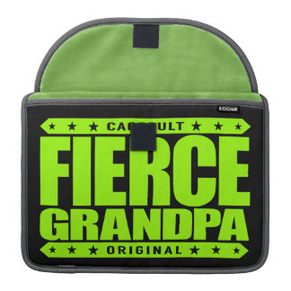 FIERCE GRANDPA - Still Frisky With Stamina & Vigor Sleeve For MacBook Pro
