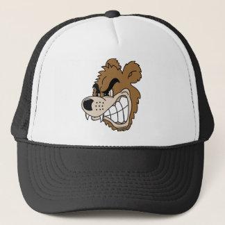 Fierce Grizzly Bear Trucker Hat
