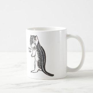 Fierce Ground Squirrel Coffee Mug