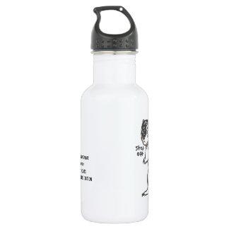 Fierce Ground Squirrel Water Bottle