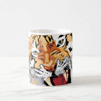 Fierce Growling Tiger Close Up Mug